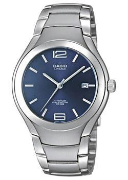 Японские наручные мужские часы Casio LIN-169-2A. Коллекция Lineage