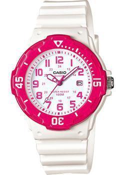 Японские наручные  женские часы Casio LRW-200H-4B. Коллекция Analog