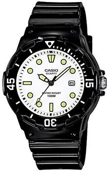 Японские наручные  женские часы Casio LRW-200H-7E1. Коллекция Standart