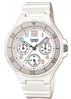 Японские наручные  женские часы Casio LRW-250H-7B. Коллекция Analog