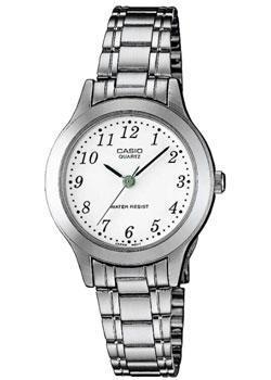 Японские наручные  женские часы Casio LTP-1128PA-7B. Коллекция Analog