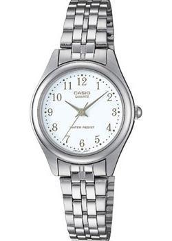 Японские наручные  женские часы Casio LTP-1129PA-7B. Коллекция Analog