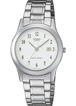Японские наручные  женские часы Casio LTP-1141PA-7B. Коллекция Analog