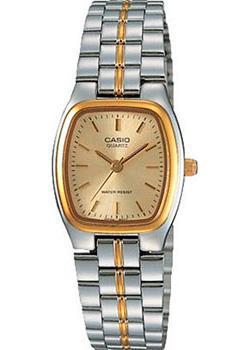 Японские наручные  женские часы Casio LTP-1169G-9A. Коллекция Analog