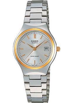 Японские наручные  женские часы Casio LTP-1170G-7A. Коллекция Analog