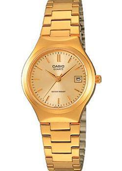 Японские наручные  женские часы Casio LTP-1170N-9A. Коллекция Analog
