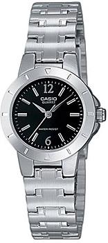 Японские наручные  женские часы Casio LTP-1177A-1A. Коллекция Metal Fashion