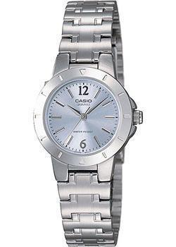 Японские наручные  женские часы Casio LTP-1177PA-2A. Коллекция Standard Analog