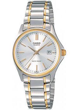 Японские наручные  женские часы Casio LTP-1183G-7A. Коллекция Analog