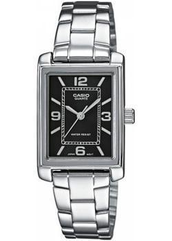 Японские наручные  женские часы Casio LTP-1234PD-1A. Коллекция Standard Analog