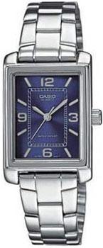 Японские наручные  женские часы Casio LTP-1234PD-2A. Коллекция Standard Analog