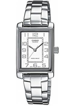 Японские наручные  женские часы Casio LTP-1234PD-7B. Коллекция Analog