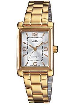 Японские наручные  женские часы Casio LTP-1234PG-7A. Коллекция Standard Analog