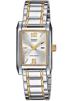 Японские наручные  женские часы Casio LTP-1235PSG-7A. Коллекция Standard Analog