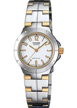 Японские наручные  женские часы Casio LTP-1242SG-7A. Коллекция Analog