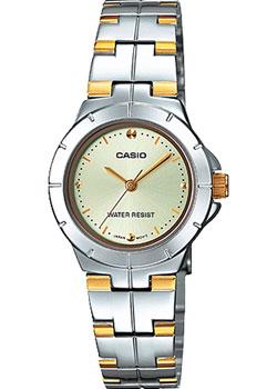 Японские наручные  женские часы Casio LTP-1242SG-9C. Коллекция Analog