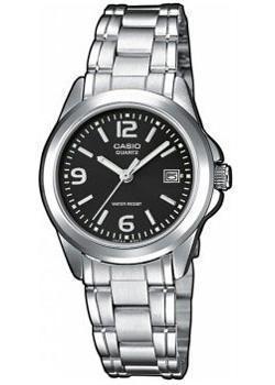 Японские наручные  женские часы Casio LTP-1259PD-1A. Коллекция Analog