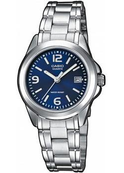 Японские наручные  женские часы Casio LTP-1259PD-2A. Коллекция Analog