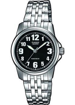 Японские наручные  женские часы Casio LTP-1260PD-1B. Коллекция Analog