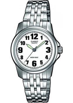 Японские наручные  женские часы Casio LTP-1260PD-7B. Коллекция Analog