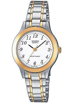 Японские наручные  женские часы Casio LTP-1263PG-7B. Коллекция Analog
