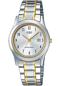 Японские наручные  женские часы Casio LTP-1264PG-7B. Коллекция Analog
