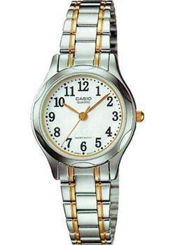 Японские наручные  женские часы Casio LTP-1275SG-7B. Коллекция Analog