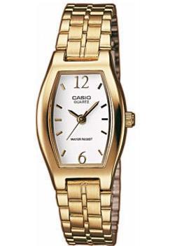 Японские наручные  женские часы Casio LTP-1281PG-7A. Коллекция Analog