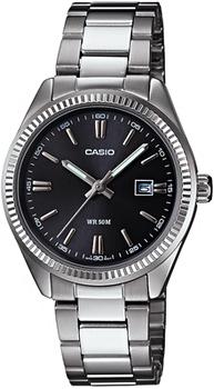 Японские наручные  женские часы Casio LTP-1302D-1A1. Коллекция Analog