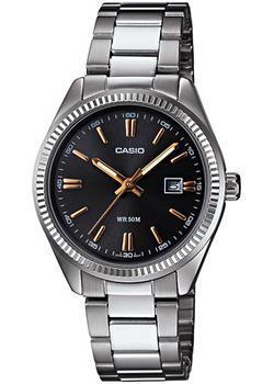 Японские наручные  женские часы Casio LTP-1302D-1A2. Коллекция Analog