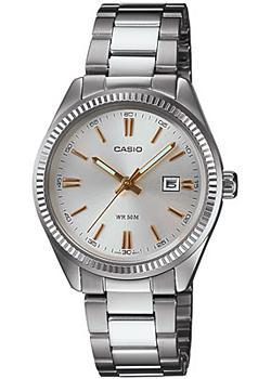 Японские наручные  женские часы Casio LTP-1302D-7A2. Коллекция Analog