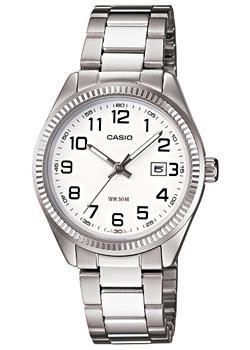 Японские наручные  женские часы Casio LTP-1302D-7B. Коллекция Metal Fashion