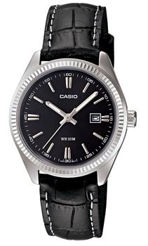 Японские наручные  женские часы Casio LTP-1302L-1A. Коллекция Analog
