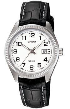 Японские наручные  женские часы Casio LTP-1302L-7B. Коллекция Analog