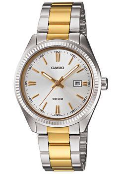 Японские наручные  женские часы Casio LTP-1302SG-7A. Коллекция Analog