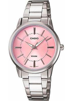 Японские наручные  женские часы Casio LTP-1303D-4A. Коллекция Analog
