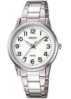 Японские наручные  женские часы Casio LTP-1303PD-7B. Коллекция Standard Analog