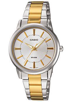 Японские наручные  женские часы Casio LTP-1303SG-7A. Коллекция Analog