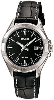 Японские наручные  женские часы Casio LTP-1308L-1A. Коллекция Analog