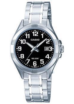 Японские наручные  женские часы Casio LTP-1308PD-1B. Коллекция Analog