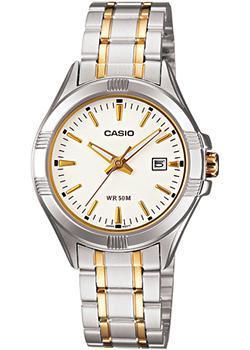 Японские наручные  женские часы Casio LTP-1308SG-7A. Коллекция Analog