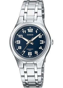 Японские наручные  женские часы Casio LTP-1310PD-2B. Коллекция Analog
