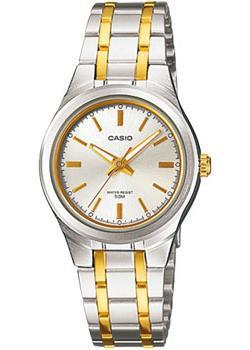 Японские наручные  женские часы Casio LTP-1310SG-7A. Коллекция Analog