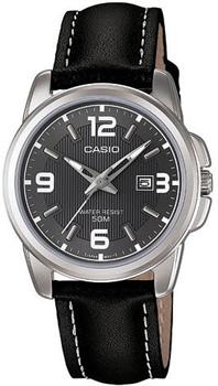 Японские наручные  женские часы Casio LTP-1314L-8A. Коллекция Analog