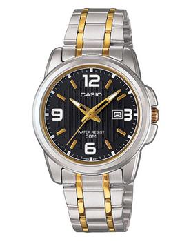 Японские наручные  женские часы Casio LTP-1314SG-1A. Коллекция Analog