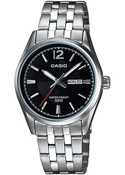 Японские наручные  женские часы Casio LTP-1335D-1A. Коллекция Analog