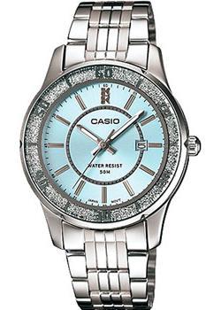 Японские наручные  женские часы Casio LTP-1358D-2A. Коллекция Analog