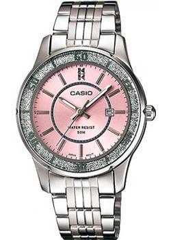 Японские наручные  женские часы Casio LTP-1358D-4A. Коллекция Analog