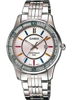 Японские наручные  женские часы Casio LTP-1358D-7A. Коллекция Analog