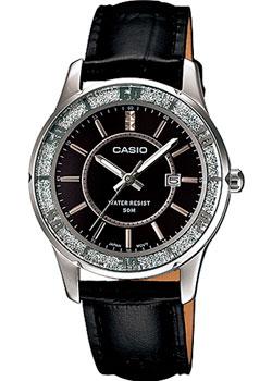 Японские наручные  женские часы Casio LTP-1358L-1A. Коллекция Analog